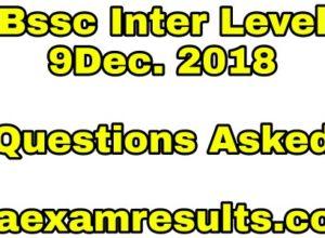 bssc-inter-level-9december-questions-asked