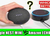 google nest mini vs amazon echo dot compare