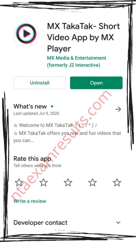 best Tik Tok alternative - MX TAKA TAK app