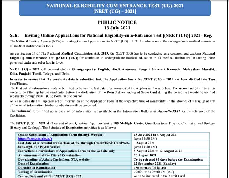 neet-2021-application-form-apply-online